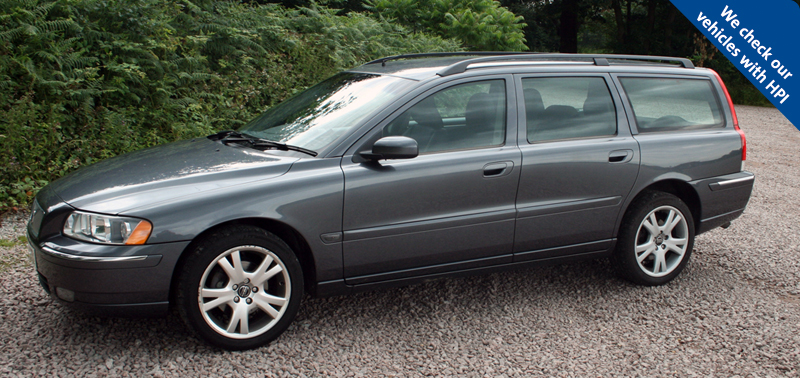 2005/05 Volvo V70 D5 SE Estate. Volvo V70 D5 SE, 83k, facelift version,